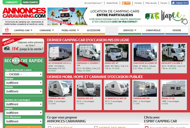Annonces Camping-Car